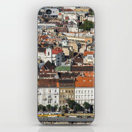 Budapest from Above iPhone Skin