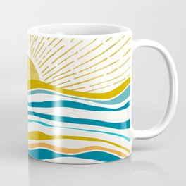 Sunrise At Sea Coffee Mug