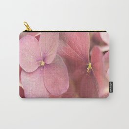 Hortensia Flower Pink Hydrangea #decor #society6 Carry-All Pouch