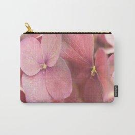 Hortensia Flower Pink Hydrangea #decor #society6 #buyart Carry-All Pouch