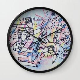 Animal Past Wall Clock