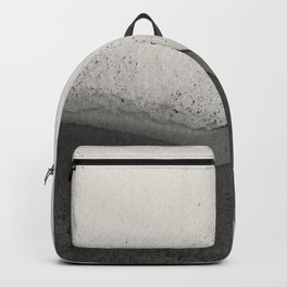 Abstract black watercolor 2 Backpack
