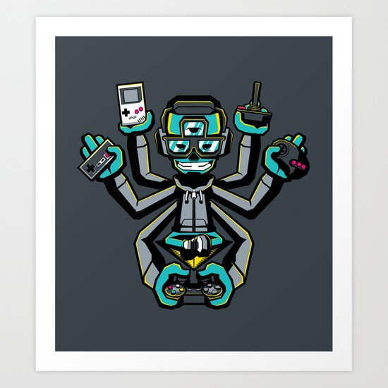 The Ultimate Gamer Art Print