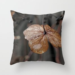 dried flower Throw Pillow