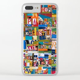 Beer by any Name Clear iPhone Case