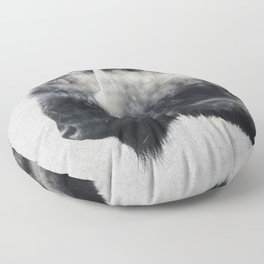 Wild West Bison Floor Pillow