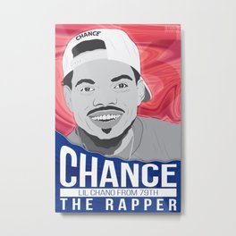 Lil Chano from 79th Metal Print