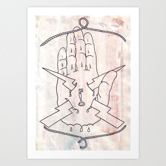 I Must Not Fear; Art Print