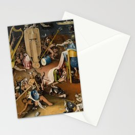Visions of Hell by Heironymus Bosch Stationery Cards