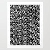 Joshua Tree Fabric Art Print