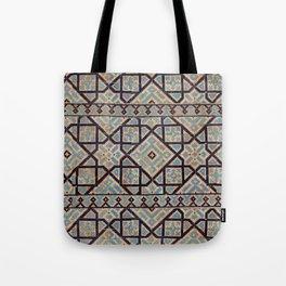 Samarkand blue ornament Tote Bag