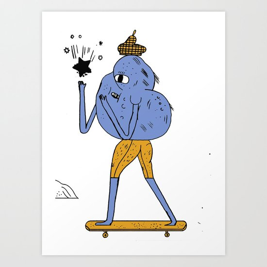 NNNNNN Art Print