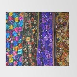 mexican art Throw Blanket