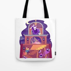 Tiny Worlds - Lavender Town Tower Tote Bag