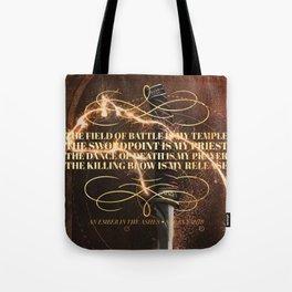 an ember Tote Bag