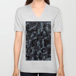 Camo Camouflage Print Design Unisex V-Neck