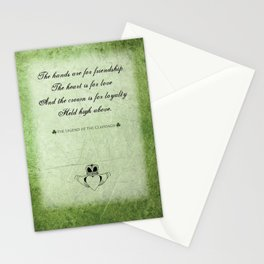 Claddagh ~ Love, Loyality, and Friendship Stationery Cards