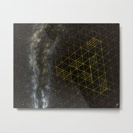 Galaxometry Metal Print
