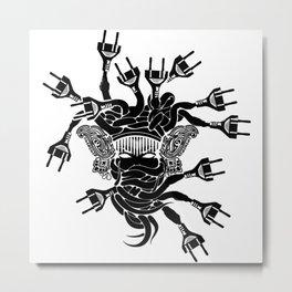 Plugusa Metal Print