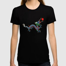 Chinese Dragon - Flag of Qing Dynasty T-shirt