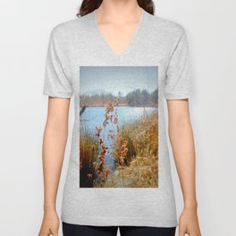 Peaceful Nature Unisex V-Neck