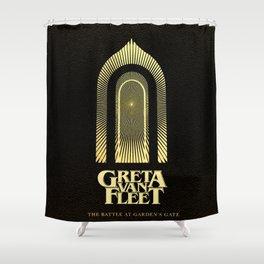 greta the battle van fleet 2021 Shower Curtain