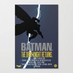Bat Knight Returns Canvas Print