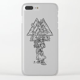 The Harvest Maiden: Ink Edition Clear iPhone Case