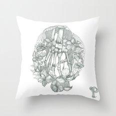 P O P P Y Throw Pillow