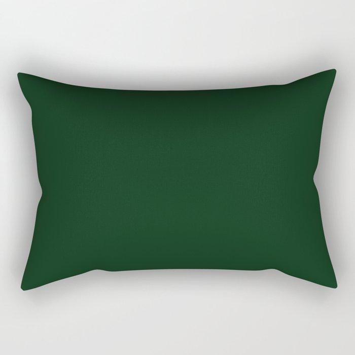 Simply Pine Green Rectangular Pillow