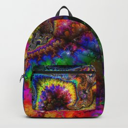 abstract 005: love Backpack