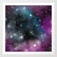 infinity Art Prints featuring Infinity by ShaylahLeigh