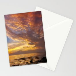 Lingering Sunset Stationery Cards