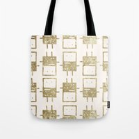 bmo Tote Bags featuring BMO by Laela's Heart