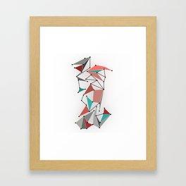 The Grid Framed Art Print