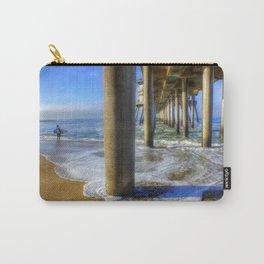 Goin' Surfin' Huntington Beach Pier Carry-All Pouch