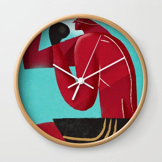 i protect you Wall Clock