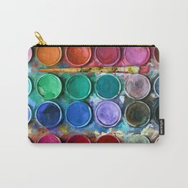 watercolor palette Digital painting Carry-All Pouch
