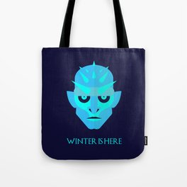 The Ice King - Winter is here Vector Poster Tote Bag