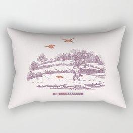 A Vintage Memory Rectangular Pillow