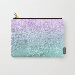 Mermaid Girls Glitter #1 #shiny #decor #art #society6 Carry-All Pouch