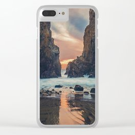 Rock Island Clear iPhone Case
