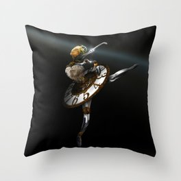 """""""Music Box - The Dance Of Hours"""" Throw Pillow"""