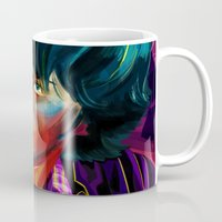 sam winchester Mugs featuring Sam Winchester in Color by thefluidlines