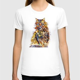 Mixed Up Maine Coon T-shirt