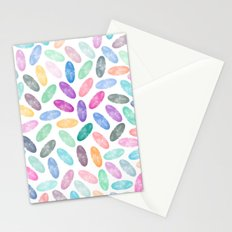Watercolor Lovely Pattern VII Stationery Cards
