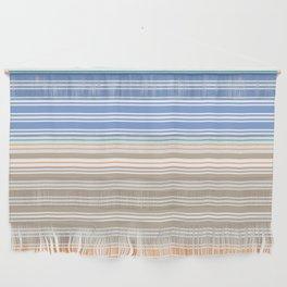Cool Summer Stripes Wall Hanging