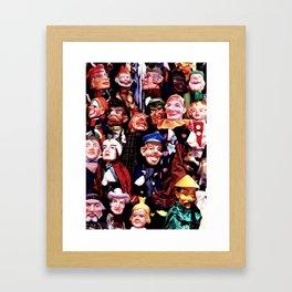 Puppetry Framed Art Print