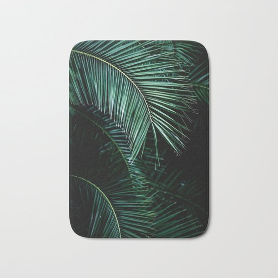 Palm Leaves 9 Bath Mat