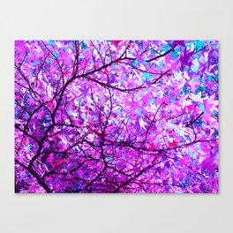 purple tree XX Canvas Print